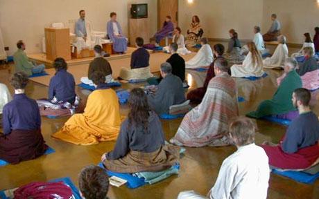 vipassana-hall